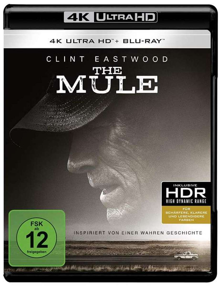 The Mule (2018) (Ultra HD Blu-ray & Blu-ray)-