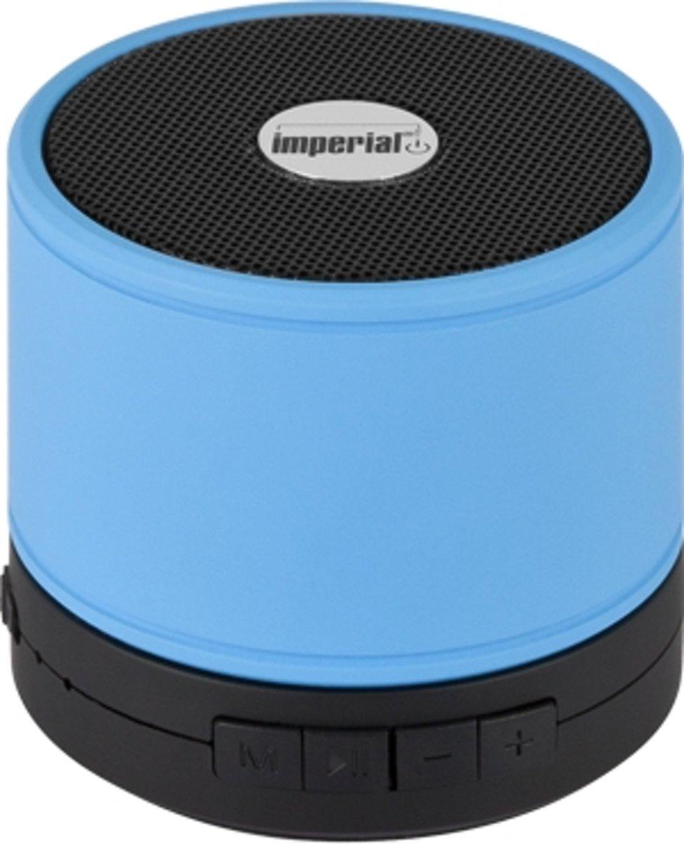Imperial bluetooth speaker Bas 1 blauw - microfoon kopen