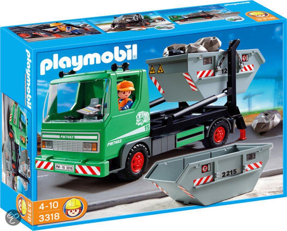Playmobil Containerdienst - 3318