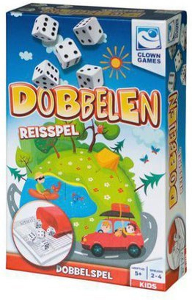 Clown Games - Dobbelen reisspel