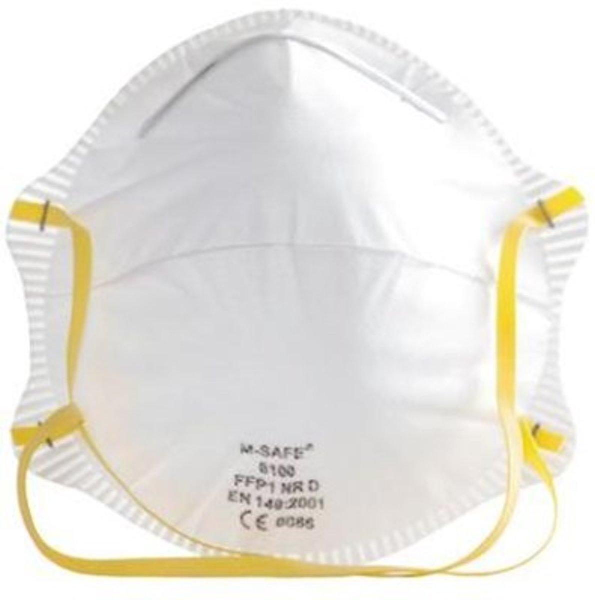 M-Safe 6100 stofmasker FFP1 NR D kopen