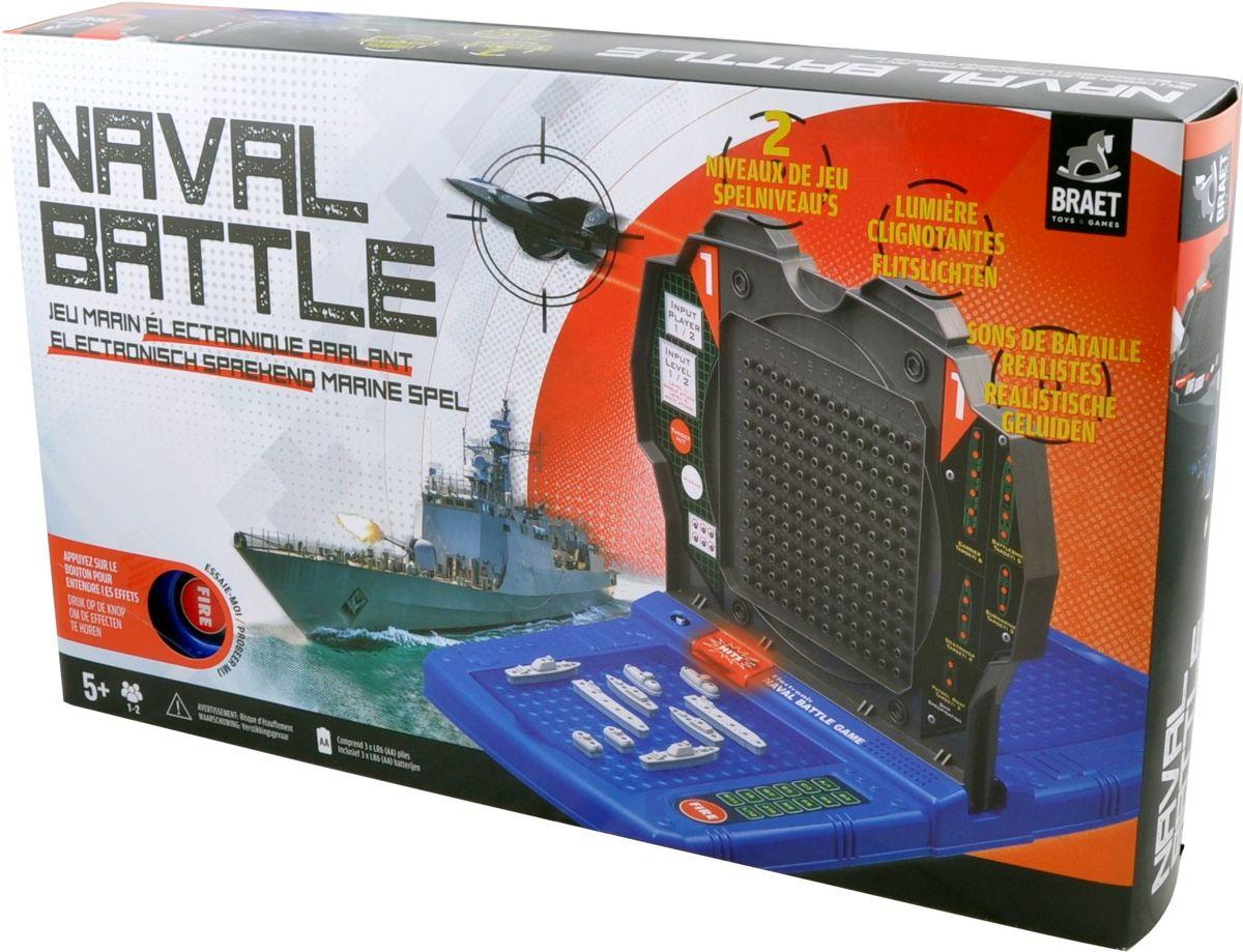 Elektronische Naval Battle - Zeeslag - Strategisch Marine Spel