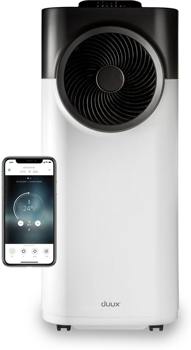 Duux Blizzard Smart Mobile Airconditioner 12.000 BTU White / Black kopen