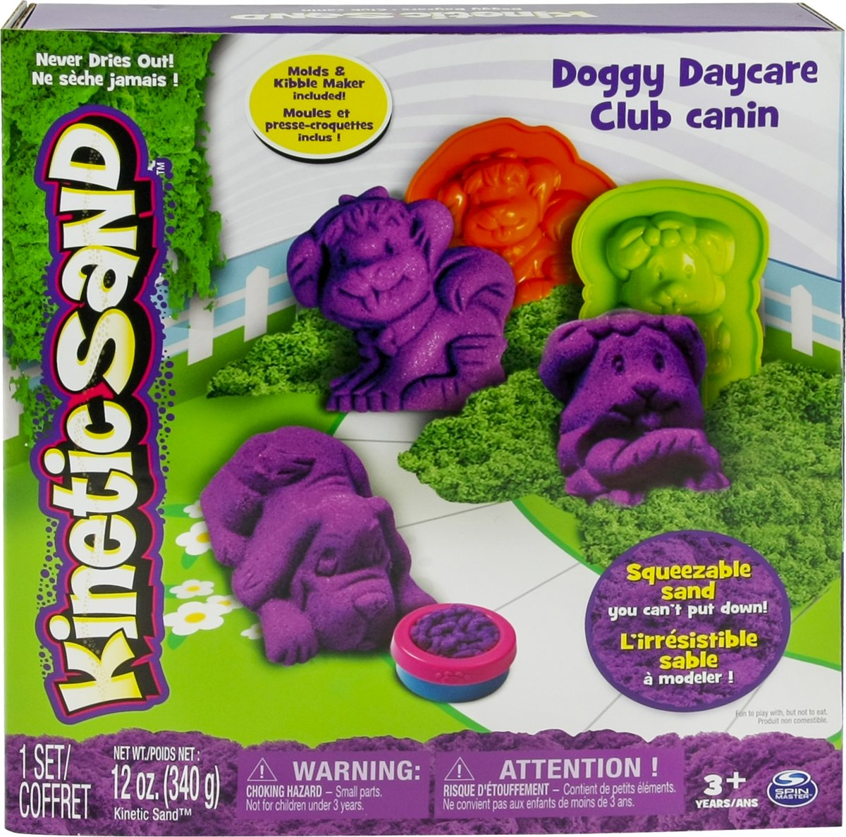 Kinetic Sand Doggy Daycare - Speelzand