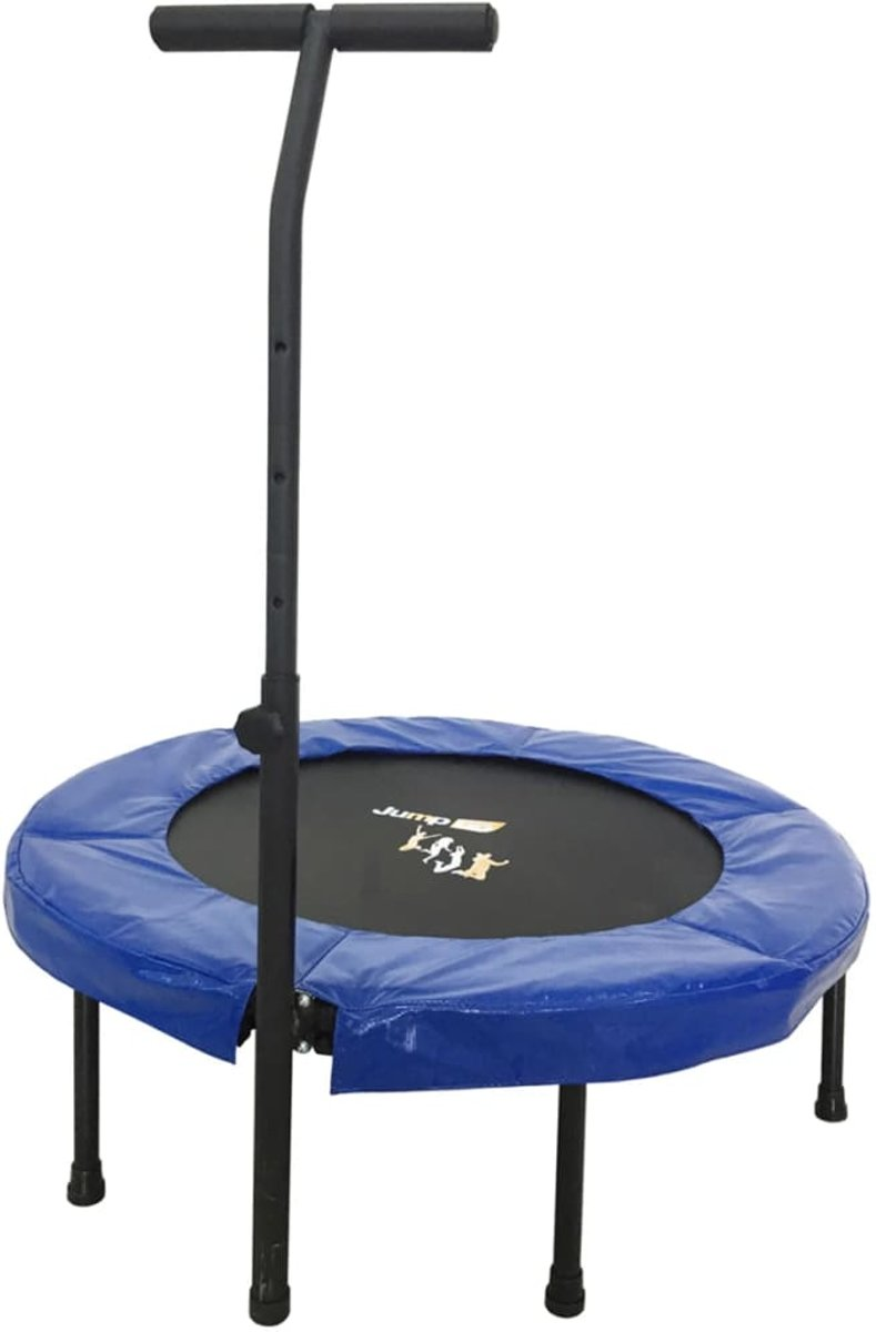 Orange Moves Jump Up Deluxe trampoline fitness + handlebar