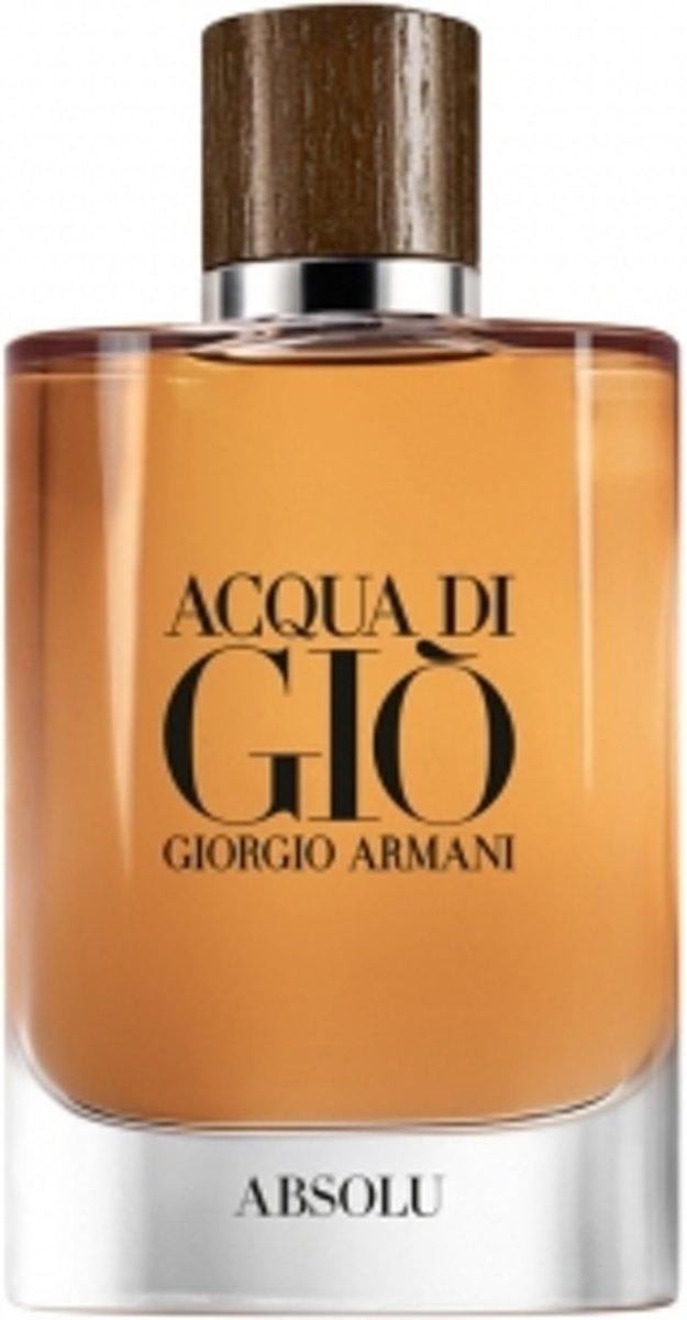 Giorgio Armani Acqua di Gio Absolu 75 ml - Eau de parfum - Herenparfum kopen