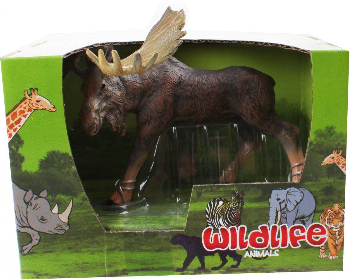Free And Easy Wildlife Animals Eland 13 Cm Bruin kopen