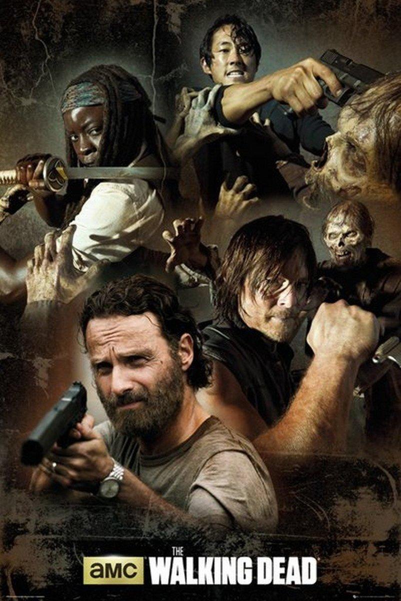Maxi Poster The Walking Dead Collage 61cm x 91.5cm kopen