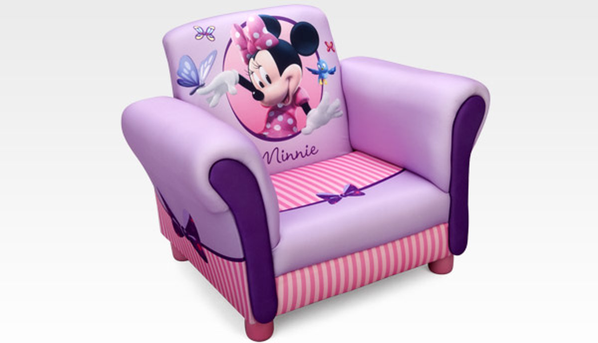 Minnie Mouse Stoel : Bol disney minnie mouse gestoffeerde stoel roze cm