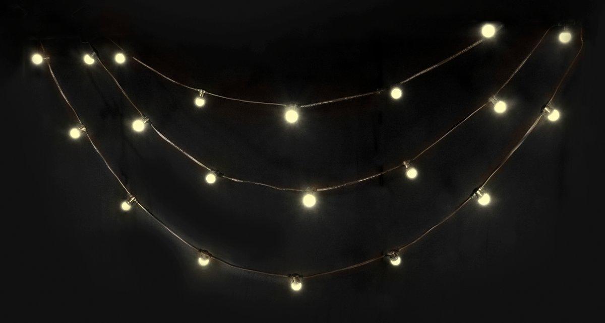 LED-LICHTSNAAR MET 20 WARMWITTE LED IP44 - 10M kopen