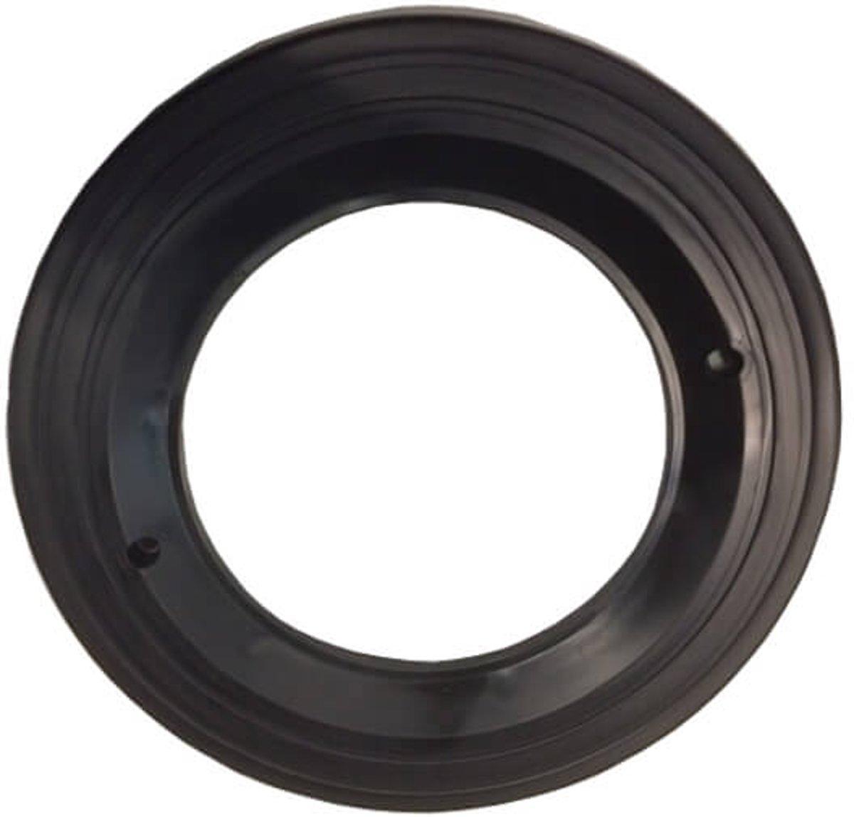 Zwarte ring voor PAR 56 behuizing