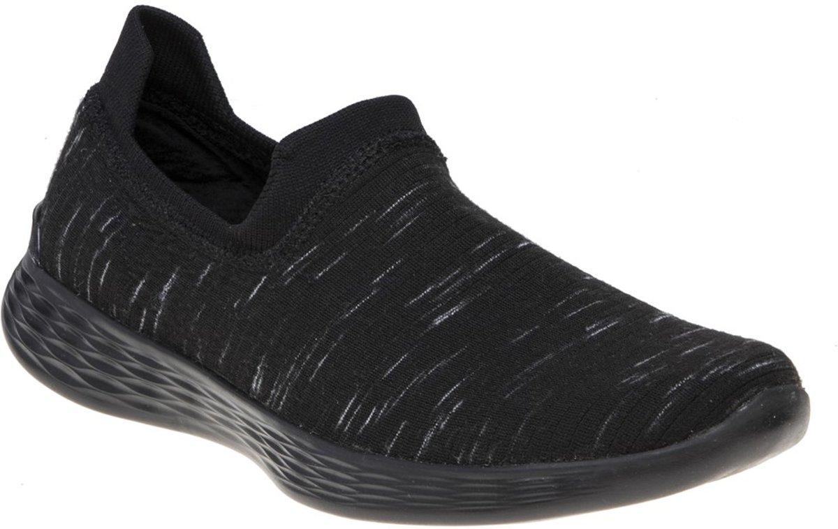 Skechers You Define sneakers zwart Maat 37