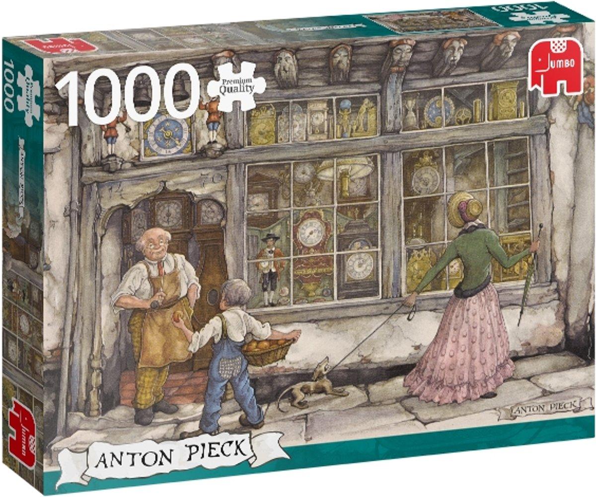 Anton Pieck The Clock Shop Premium Collection Puzzel 1000 Stukjes
