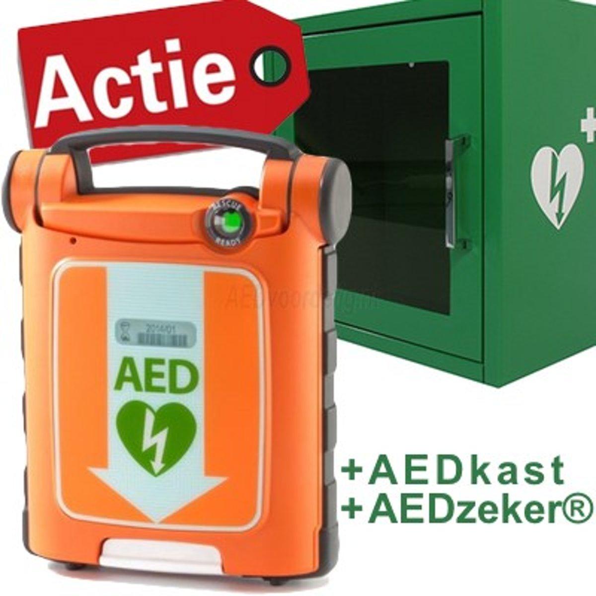 Foto van Cardiac Science G5 Halfautomaat AED pakket