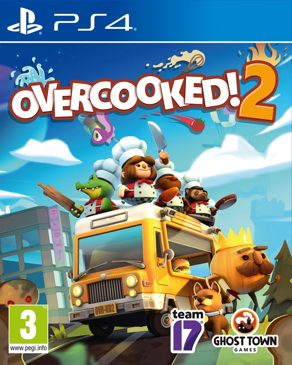 Overcooked 2 PlayStation 4