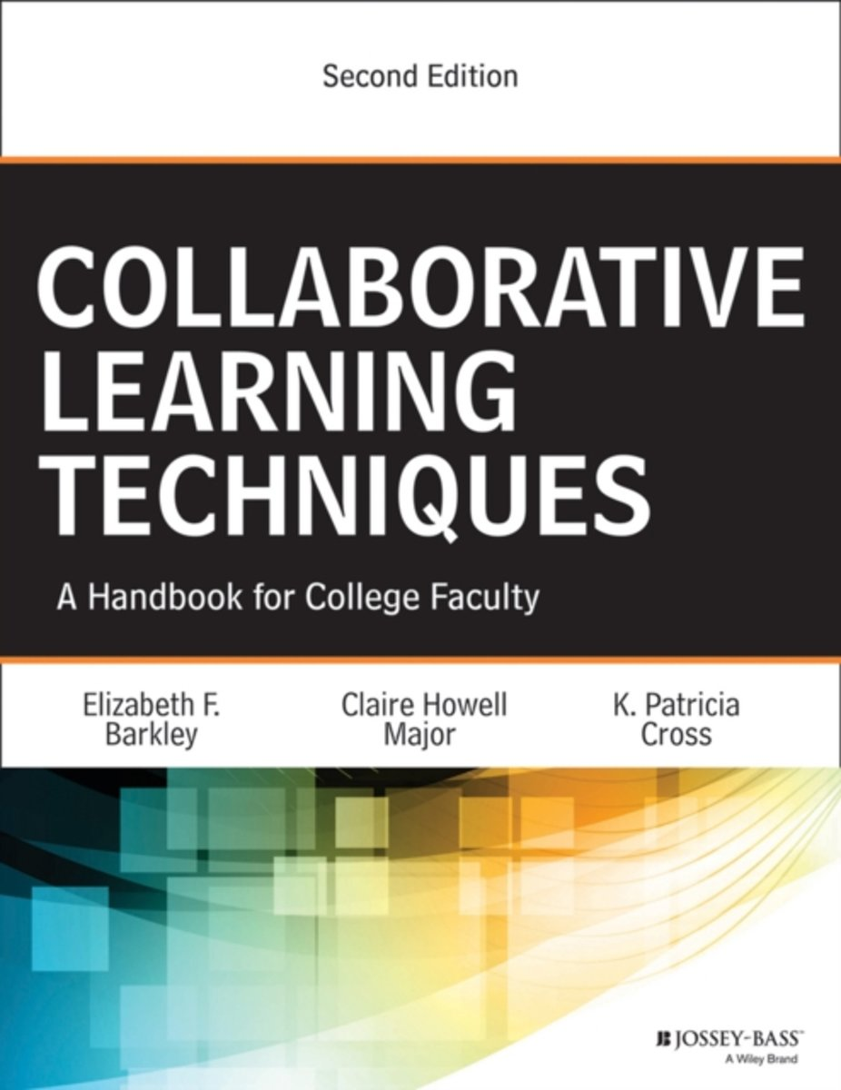 bol.com | Collaborative Learning Techniques, Elizabeth F. Barkley |  9781118761557 | Boeken