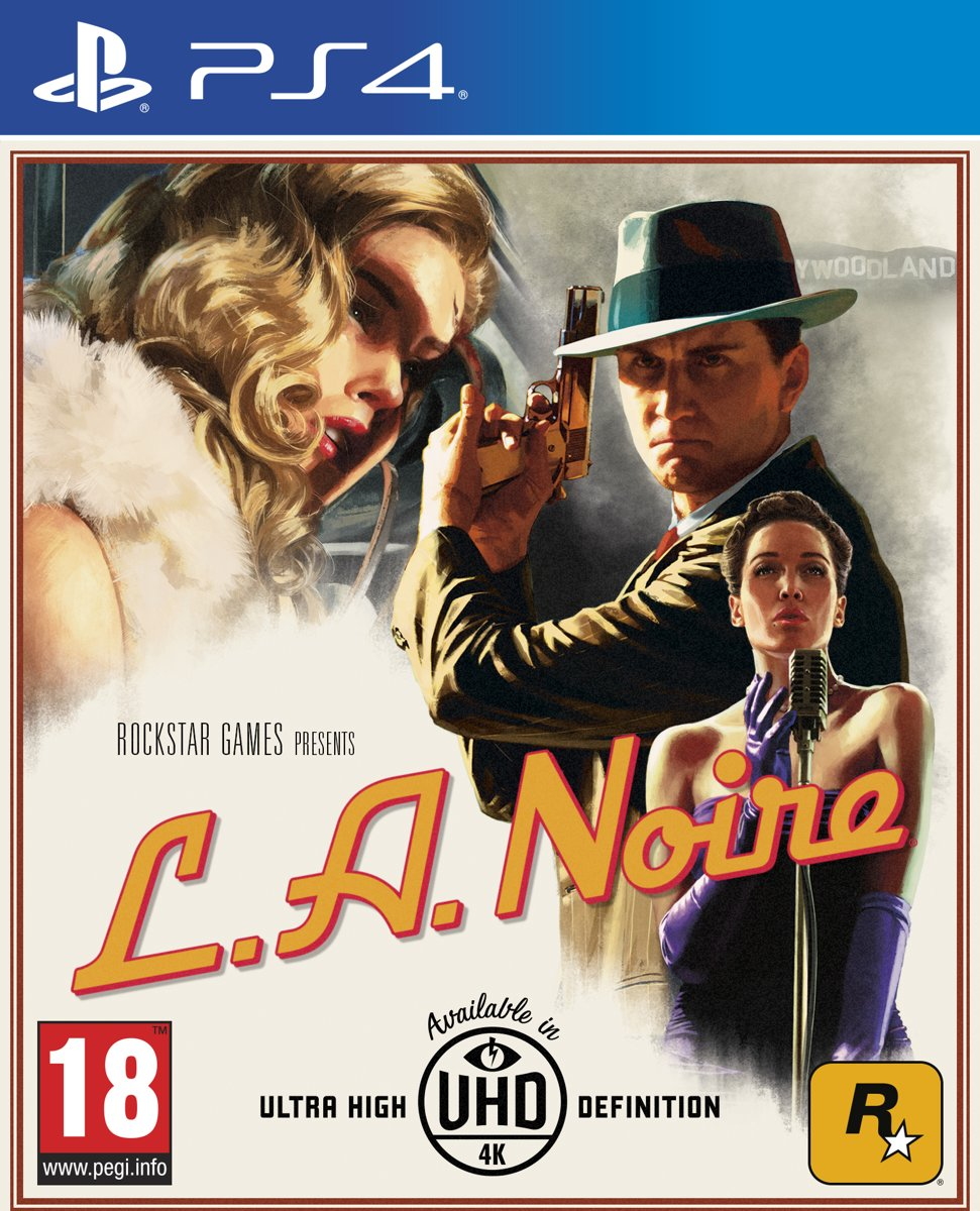 LA Noire PlayStation 4