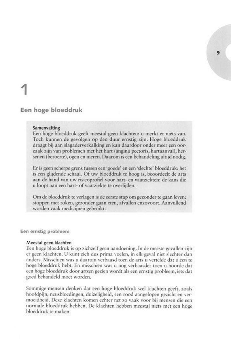 Bolcom Zorgboek Hoge Bloeddruk Hypertensie Heleen Van Duijn