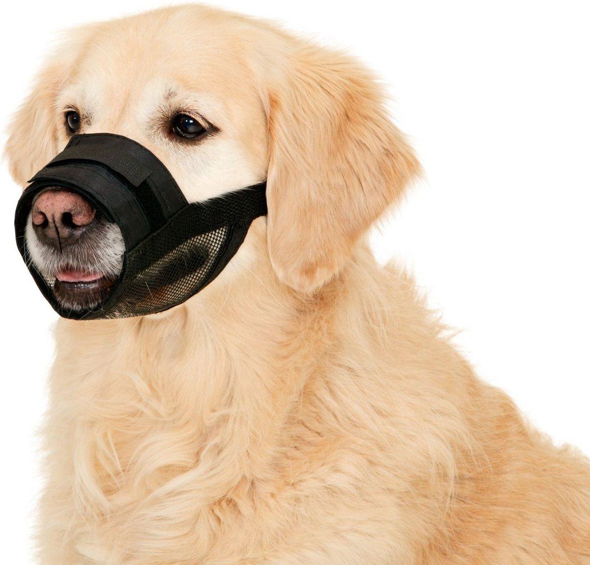Muzzle soft size 1, 13-17 cm black kopen