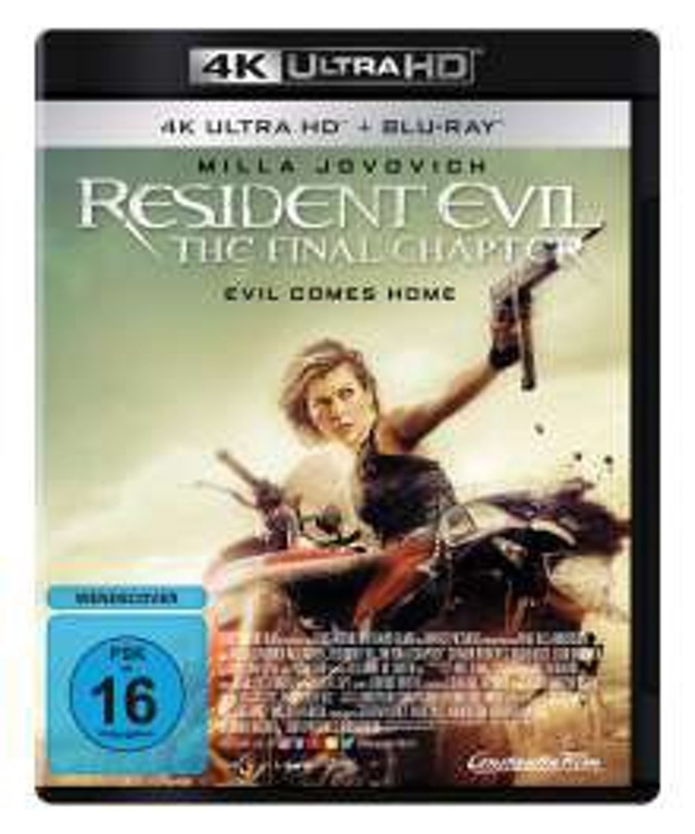 Resident Evil: The Final Chapter (Ultra HD Blu-ray & Blu-ray)-