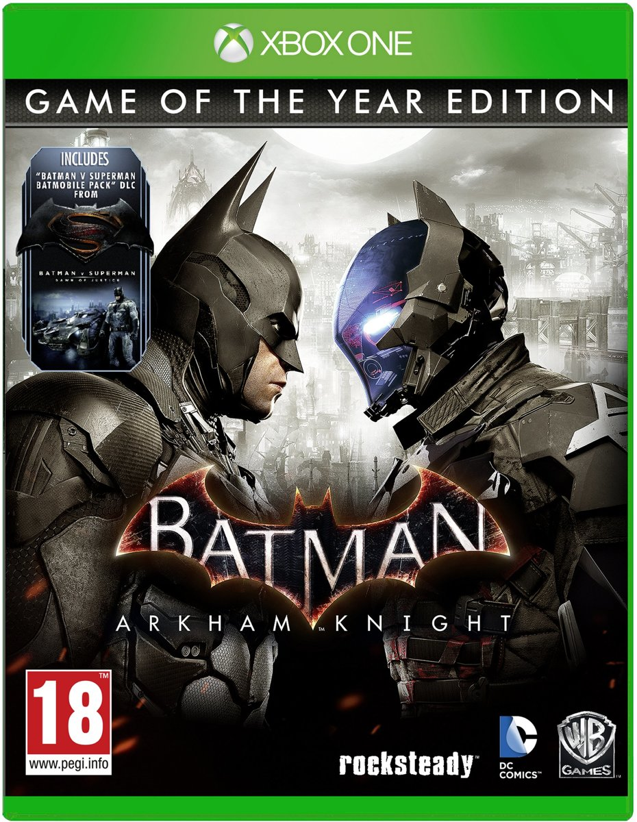 Batman: Arkham Knight Game of the Year Edition Xbox One