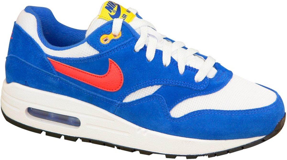 Nike Air Max 1 Gs 555766 108, Vrouwen, Wit, Sneakers maat: 38 EU