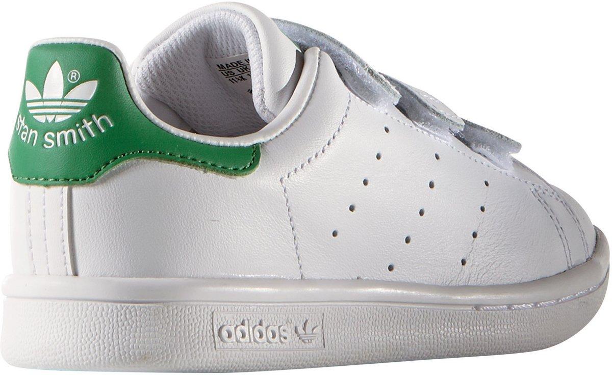 sale retailer e9d0f e38f2 bol.com  Adidas Jongens Sneakers Stan Smith Cf C - Wit - Maa