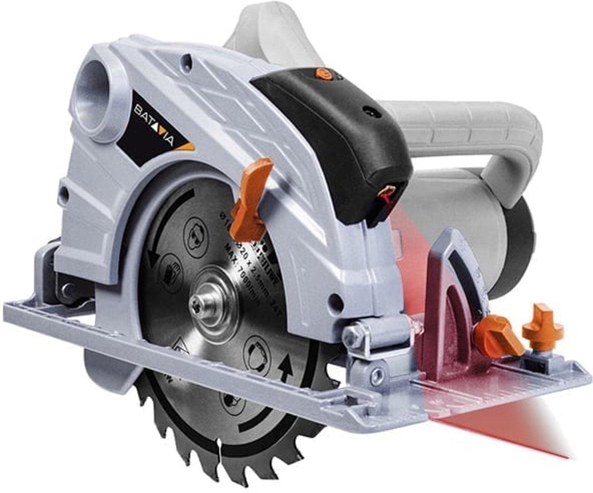 Maxxseries Cirkelzaag 1400W + laser 7062848 Batavia