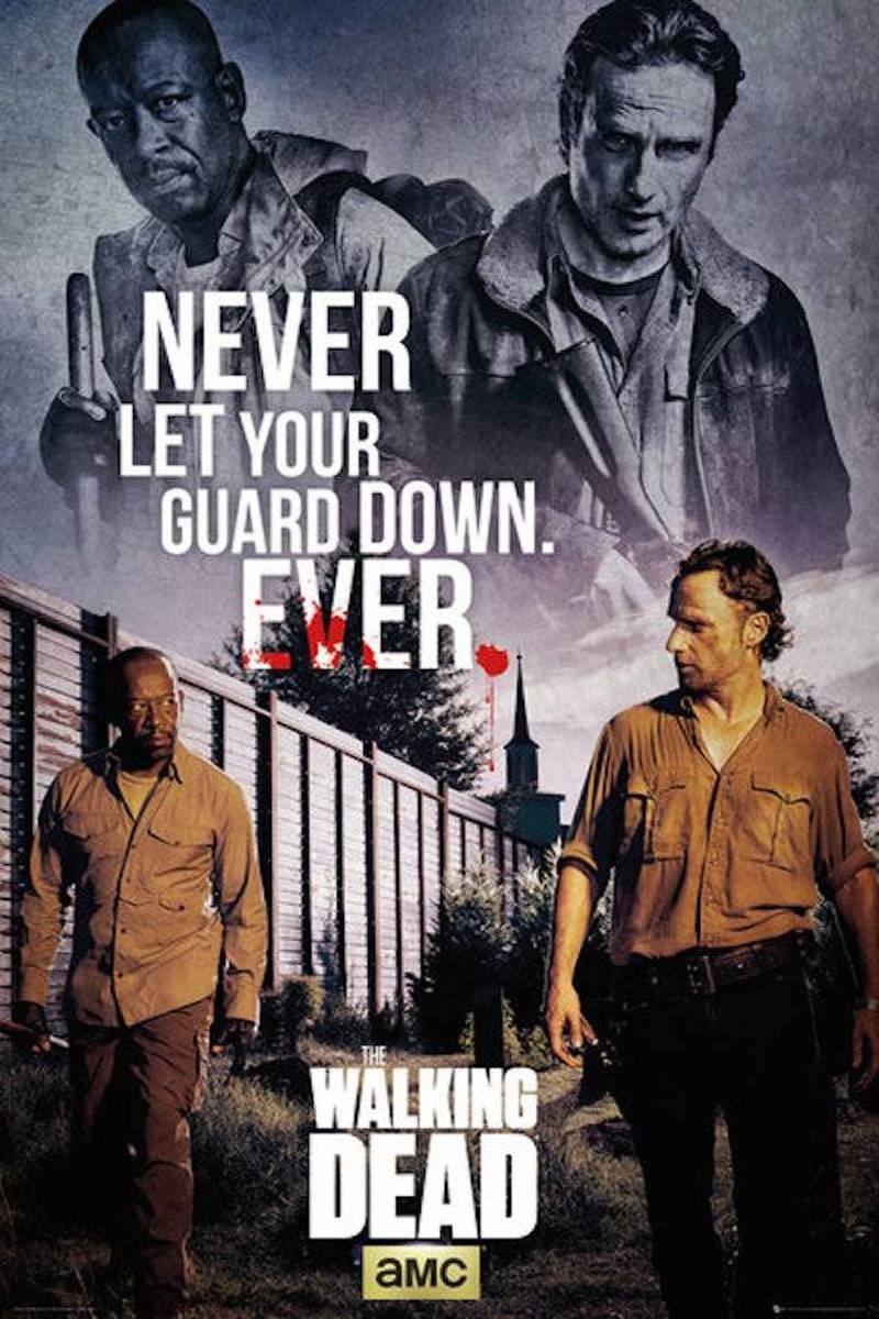 Merchandising WALKING DEAD - Poster 61X91 - Rick and Morgan kopen