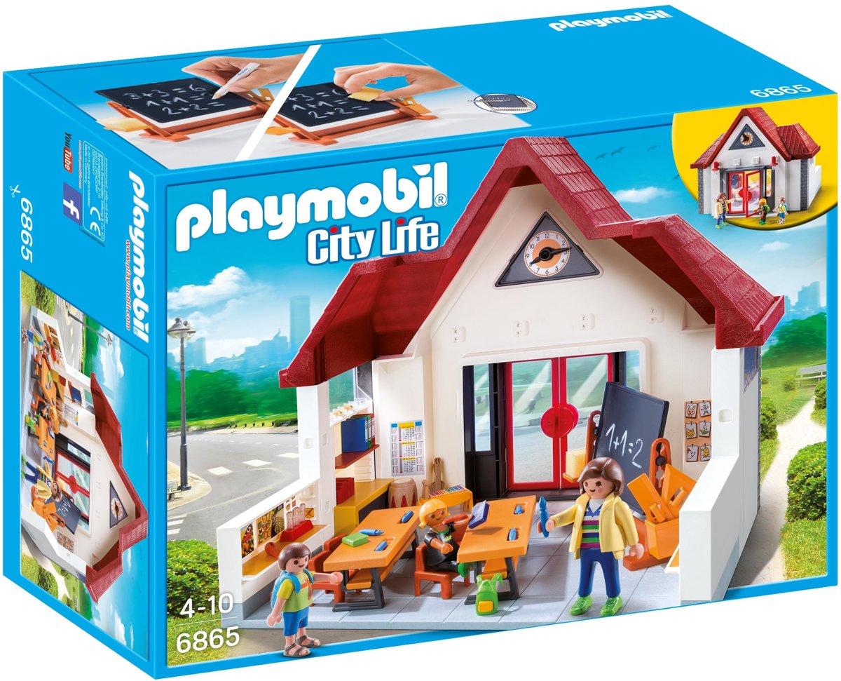 Playmobil Meeneemschool -6865