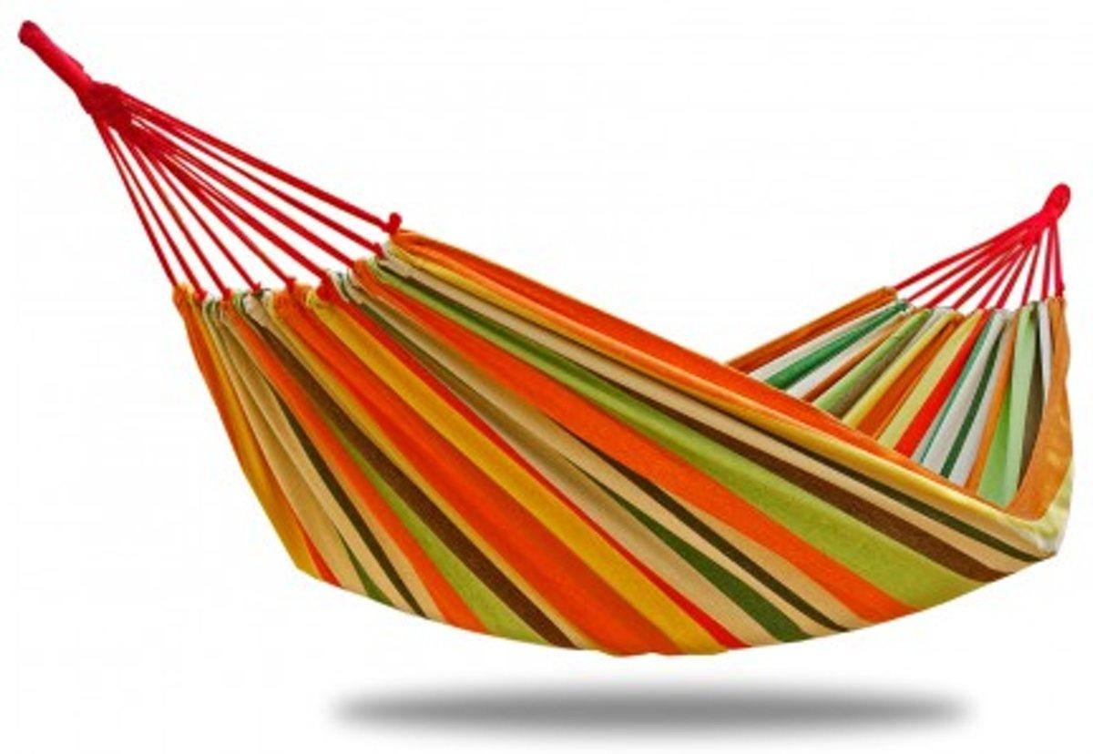 Potenza -Eénpersoons Hangmat / 1-persoons Hangmat inclusief( 2xtouw)