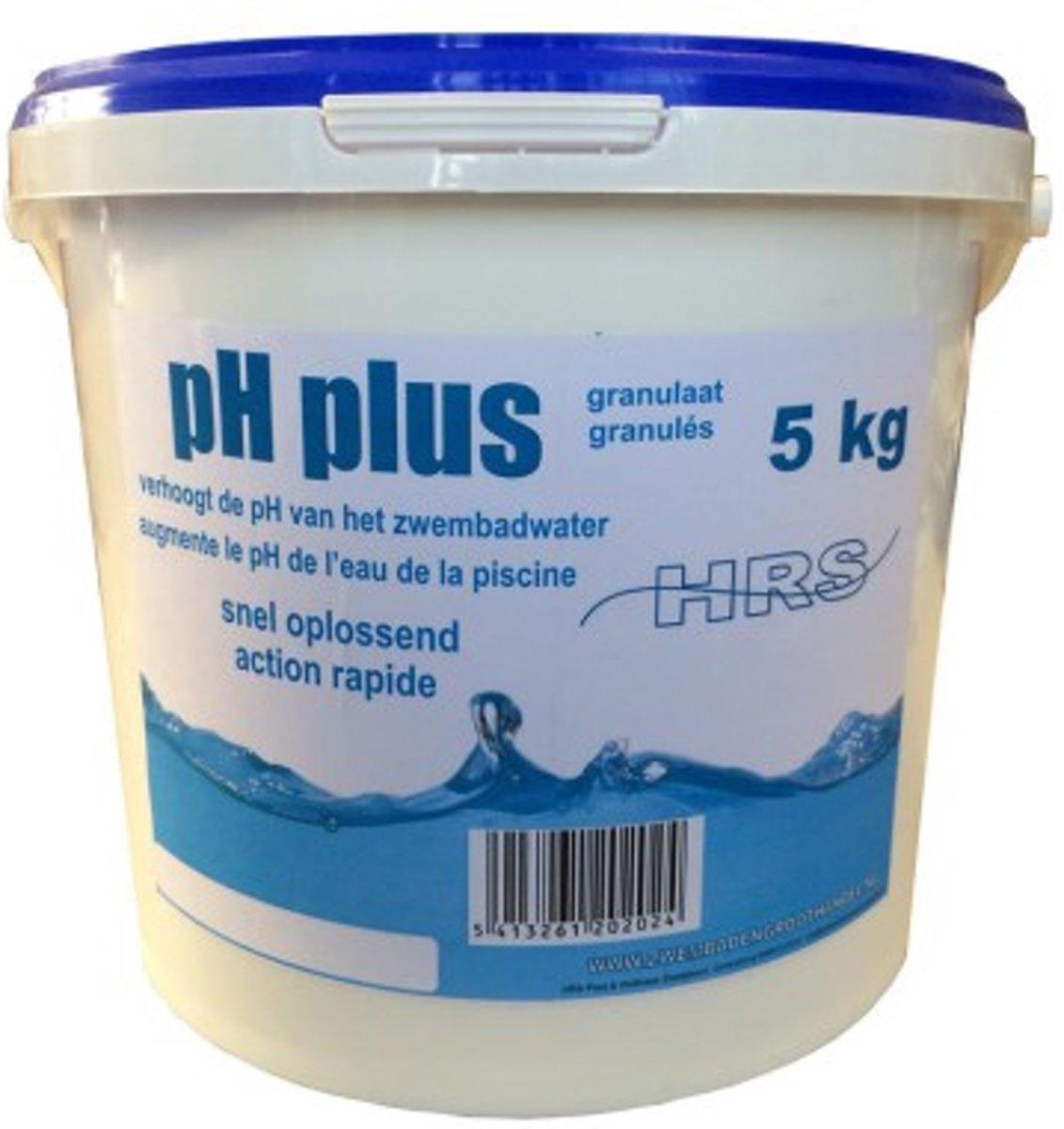 Ph plus - Zwembad - Onderhoud - PH waarde - 5kg - Ph plus - Zwembadwater
