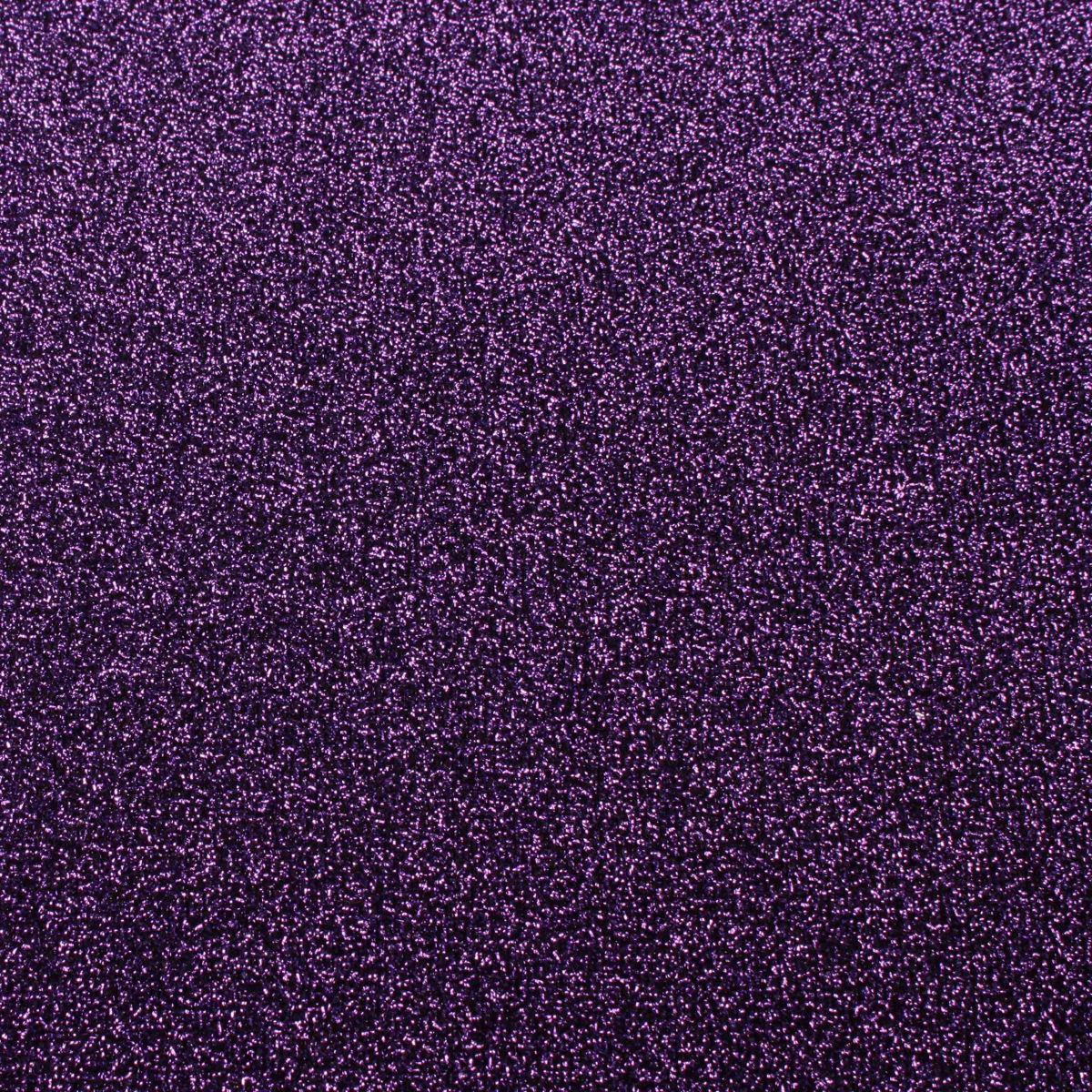Loper - Glitter Paars - 5 meter x 1 meter