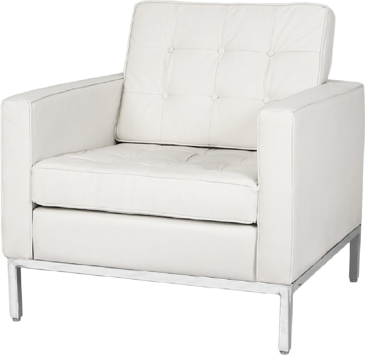 lounge stoel Florence Stoel wit kopen