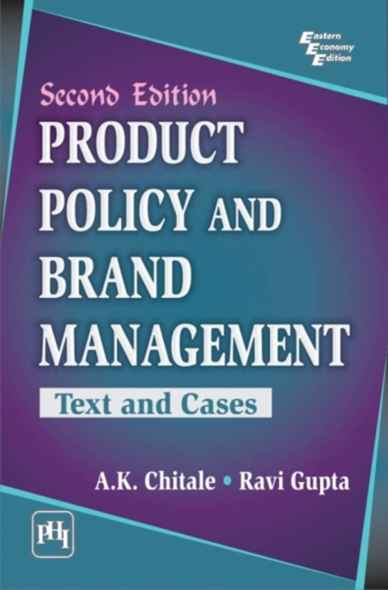 bol.com | Product Policy and Brand Management, A. K. Chitale |  9788120346369 | Boeken