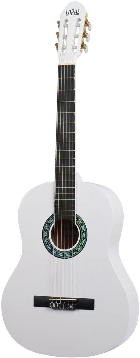 LaPaz 001 VW klassieke gitaar Vintage White