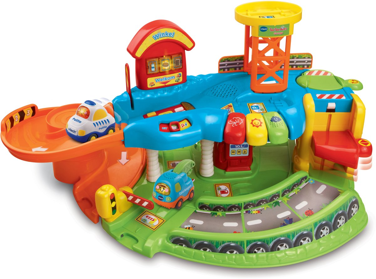 Bol Com Vtech Toet Toet Auto S Garage Vtech Speelgoed