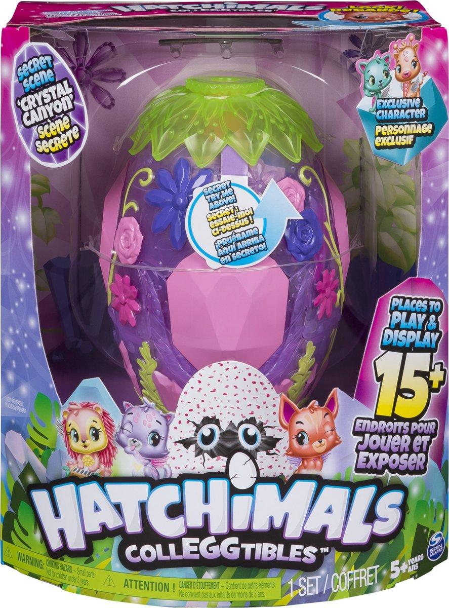 Hatchimals CollEGGTibles Secret Scene Speelset