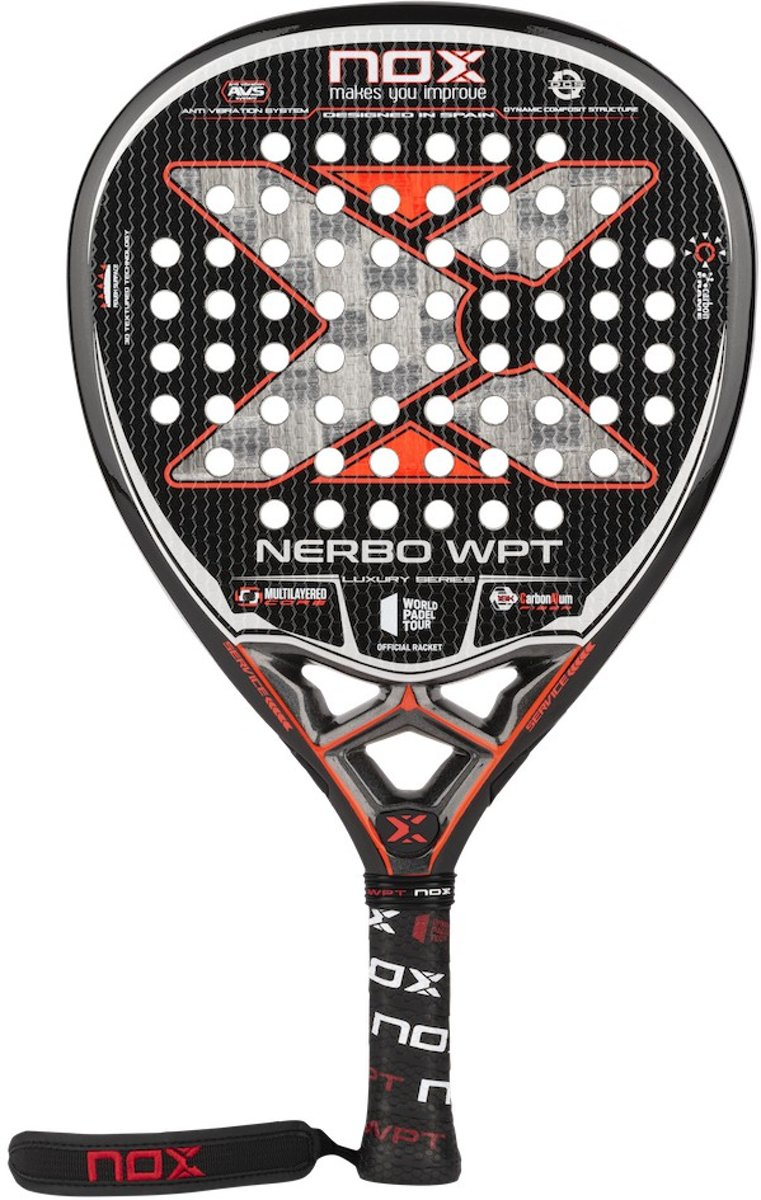 NOX Nerbo WPT Luxury Padel racket