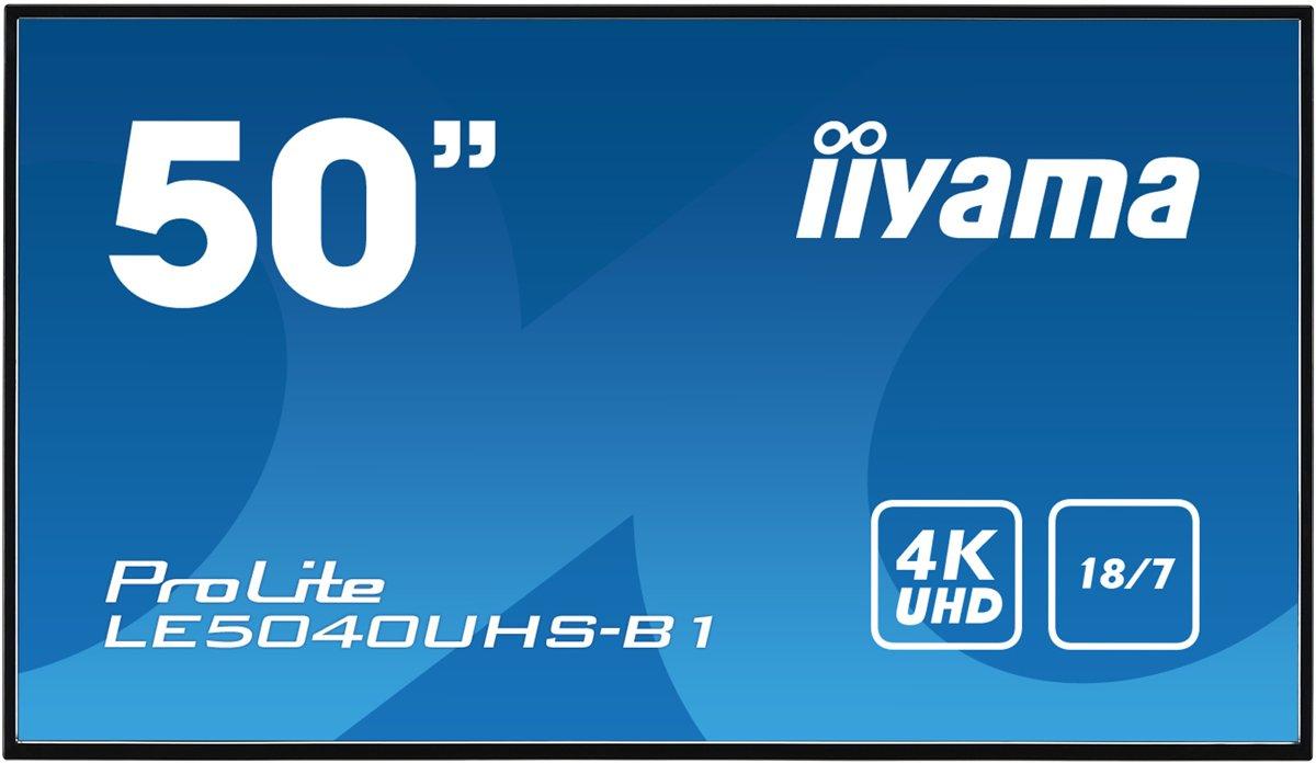 Iiyama LE5040UHS-B1 - 4K monitor - 50 inch (75Hz)