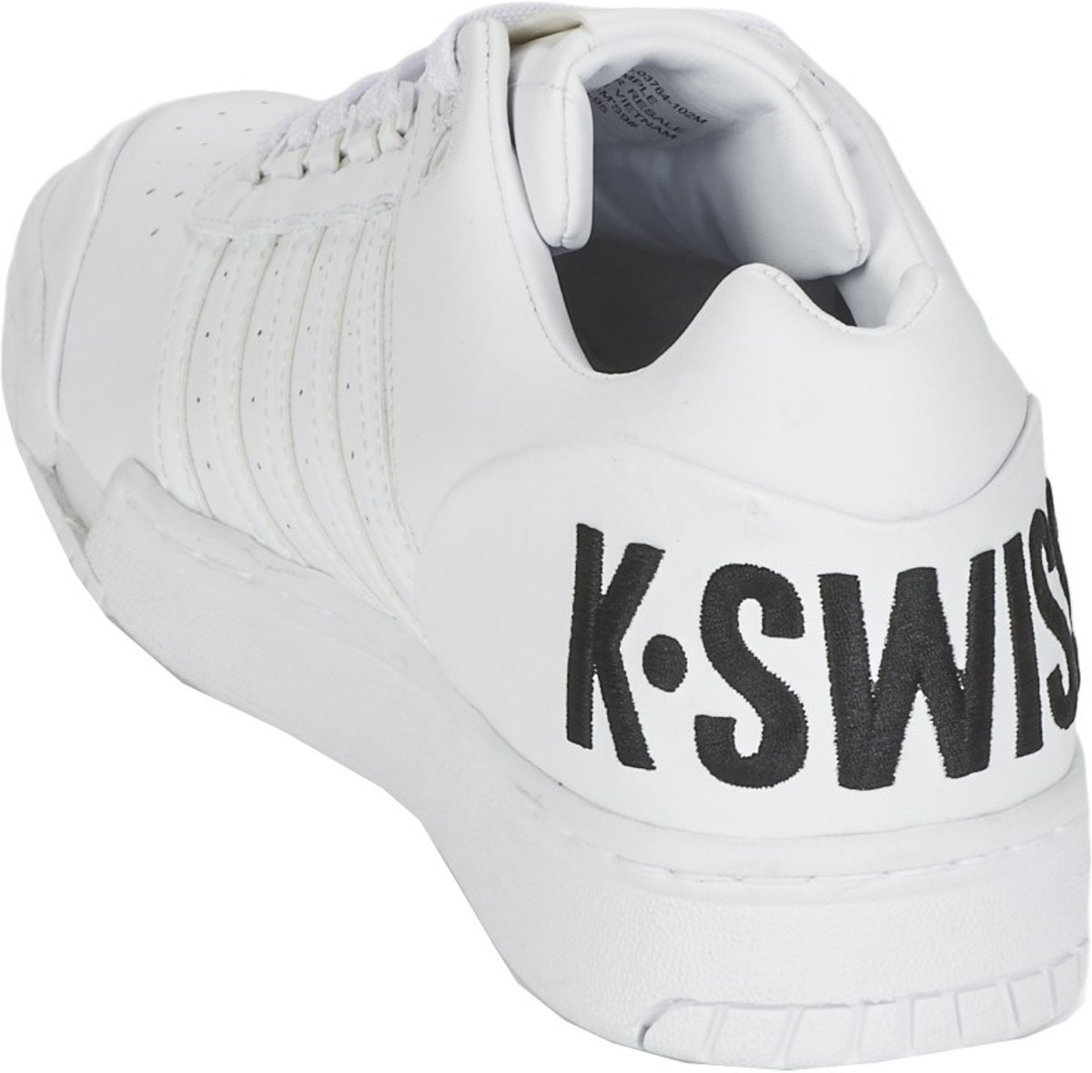 K Chaussures De Sport Suisse Hommes Gstaad Blanc Taille 39.5 ntLnnUkGXy