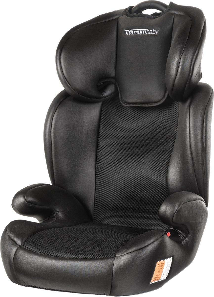 Titaniumbaby Autostoel Vidar Groep 2,3 ISOFIX Zwart 5954