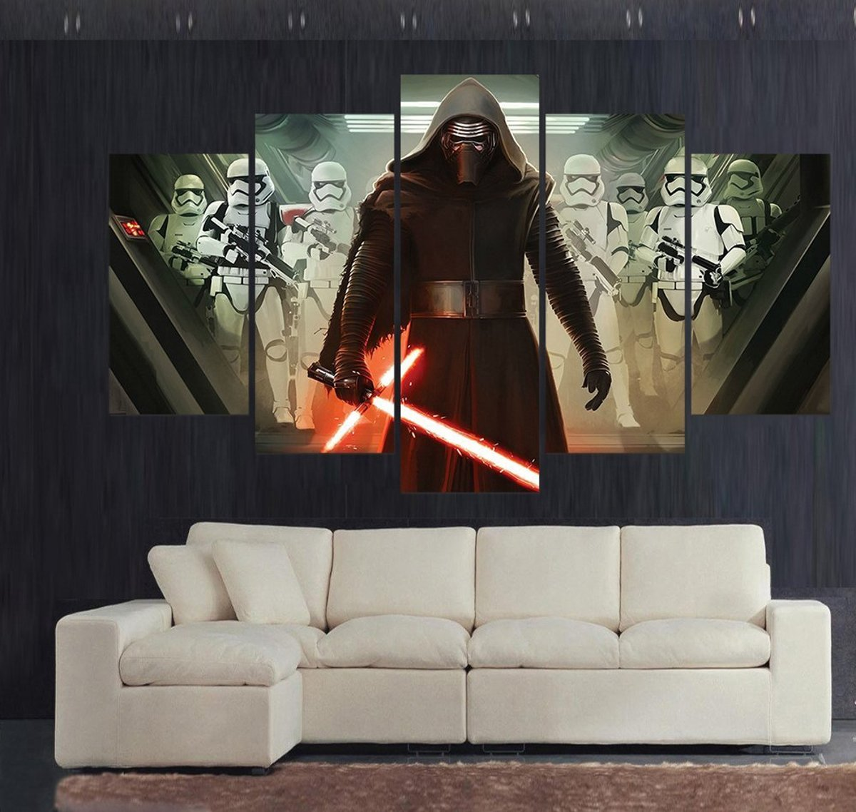 Vijfluik Home Decor: Star Wars, Kylo Ren en de First Order Stormtroopers kopen