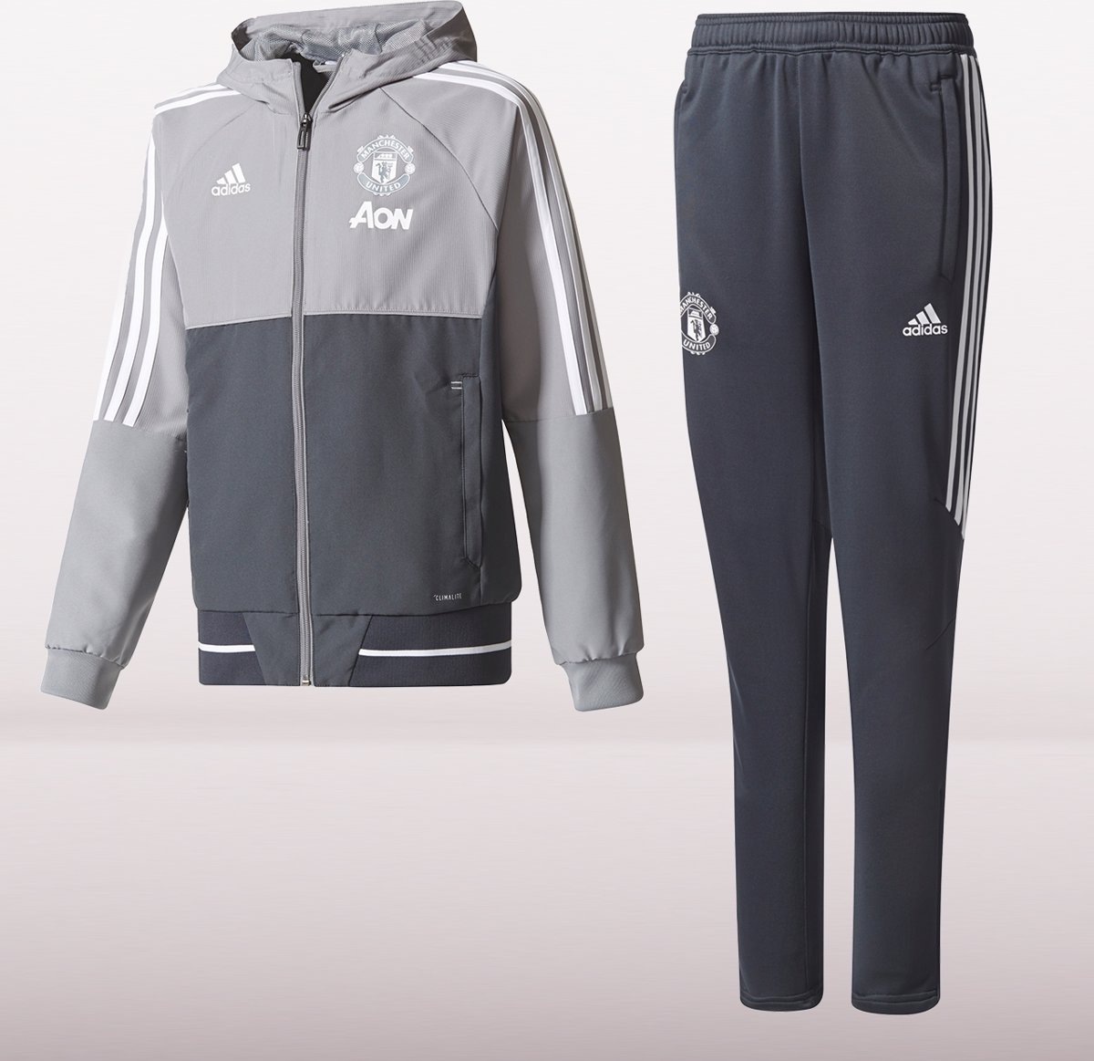 adidas manchester united trainingspak 2017 2018