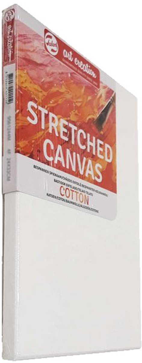 Talens Stretched Canvas 30x30cm Katoen