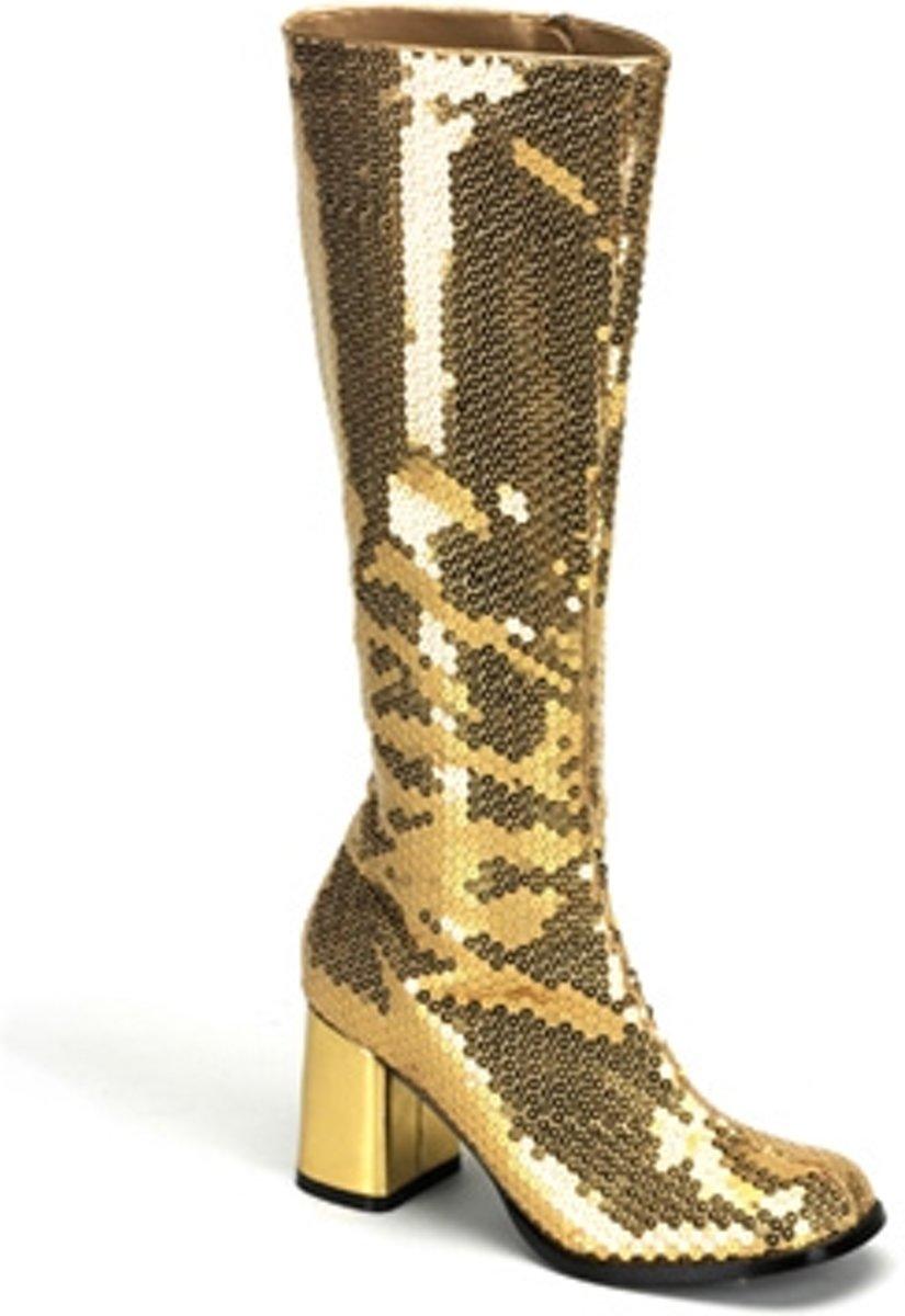 Spectacular-300SQ Gold sequins - (EU 42,5  US 12) - Bordello