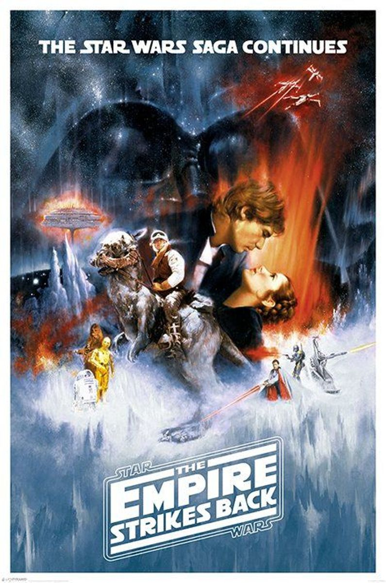 STAR WARS - Poster 61X91 - The Empire Strikes Back kopen