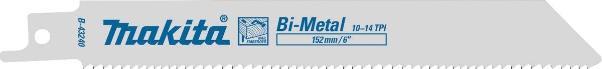 Makita B-43240 Reciprozaagb 132 H&M S922VF
