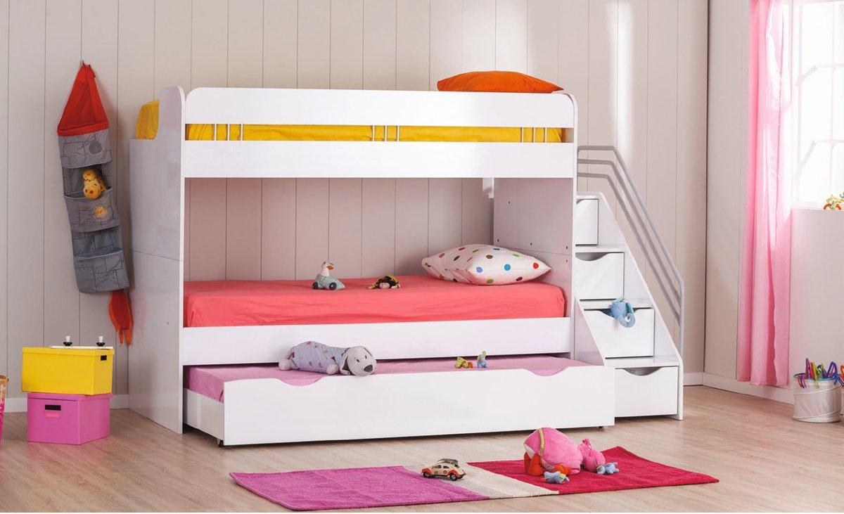 Kinderkamer Kinderkamer Bedden : Bol robin stapelbed voor de kinderkamer wit