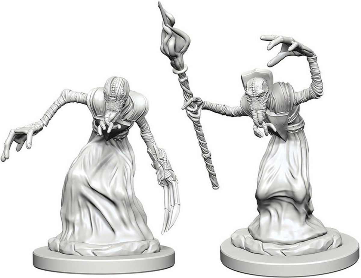 Dungeons and Dragons Nolzur's Marvelous Miniatures: Mindflayers